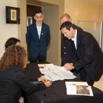 Patrice Frank Président et Jean Pallanca Président d'honneur des sommeliers de Monaco