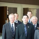Les membres de l'Association Monégasque des Sommeliers présent pour cette journée.