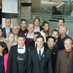 Les Vignerons de Provence et membres de l'Association Monégasque des Sommeliers avant l'arrivée de la délègation du Concours du Meilleur Sommelier d'Europe 2013.t membres de l'Association Monégasque des Sommeliers avant l'arrivée de la délègation du Concours du Meilleur Sommelier d'Europe 2013.