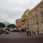 Parvis du Palais Princier