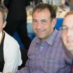 Déjeuner dégustation, Concours du Meilleur Sommelier d'Europe 2013. David Biraud (Candidat France), Franck Thomas, Romain Iltis